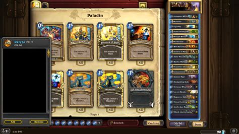 Legendary Paladin Deck by Legend Anyfin Can Happen N Zoth Paladin Guide