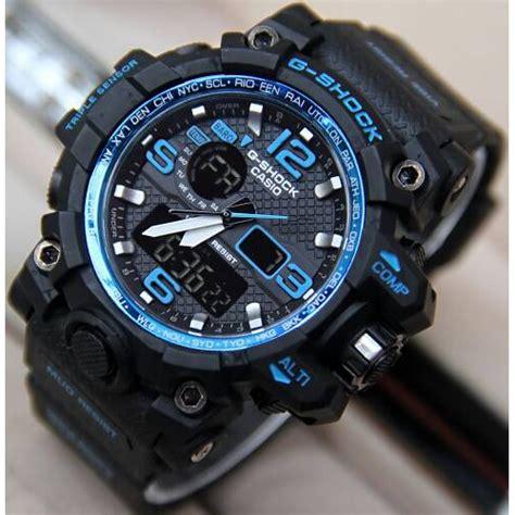 G Shock Gwg Tali Biru 6 warna free box kancing maxell jam tangan pria murah