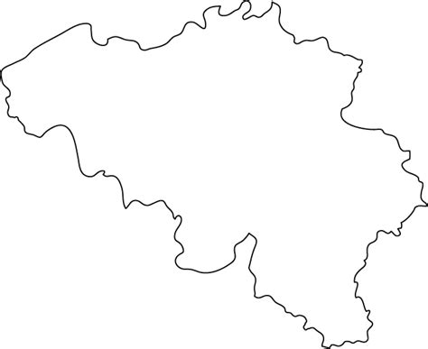Country Outline by Map Of Belgium Kingdom Of Belgium Maps Mapsof Net