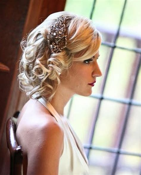 blonde bob updo vintage wedding hair inspiration for brides loving vintage