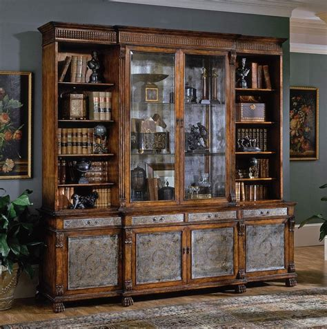 breakfront china cabinet high end dining rooms home