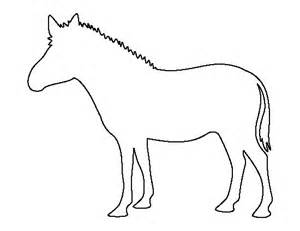 zebra template zebra pattern use the printable outline for crafts
