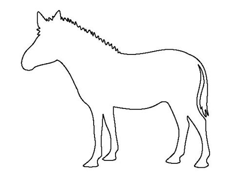 Zebra Outline Picture by Zebra Pattern Use The Printable Outline For Crafts Creating Stencils Scrapbooking And More