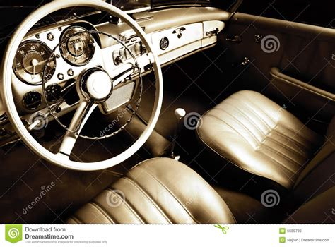Nicest Interior Car by Luxury Car Interior Stock Photo Image 6685790