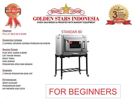 Oven Gas Golden Tipe Standar best seller oven gas indonesia