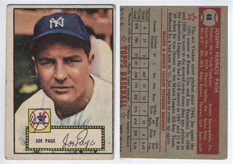 Baseball Gift Card - vintage picture baseball cards