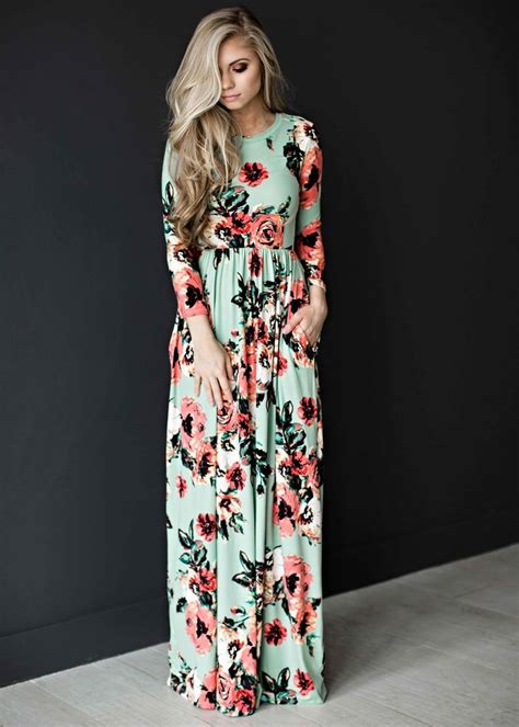 Flowery Dress Maxi 25 best ideas about sleeve maxi on maxi
