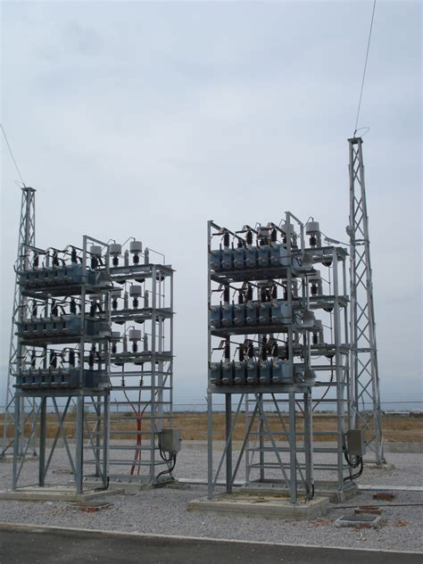 capacitor bank in transmission line powertec transmission and distribution