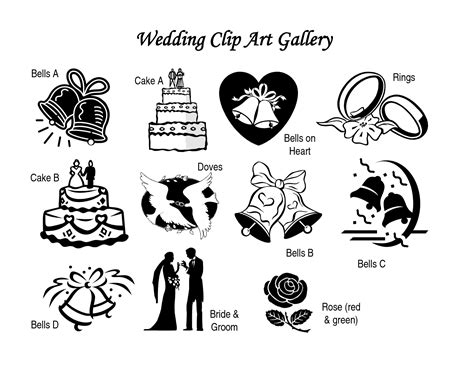 wedding bells clipart black and white wedding clipart free black and white www imgkid