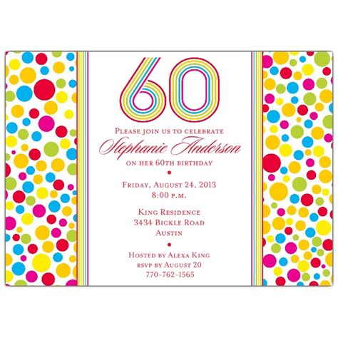 printable 60th birthday invitations templates free printable 60th birthday invitations drevio