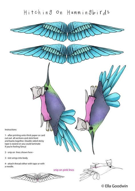hummingbird hitcher mobile 183 how to make a mobile