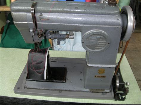 post bed sewing machine singer post bed industrial sewing machine 236w124 ebay