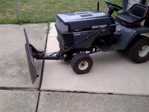 craftsman snow plow for sale