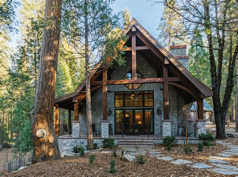 stone cottage in the woods wood and stone house exteriors timber frame timber frame home exteriors new energy works