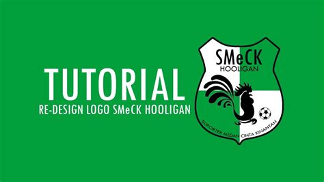 tutorial logo youtube tutorial membuat logo smeck hooligan youtube