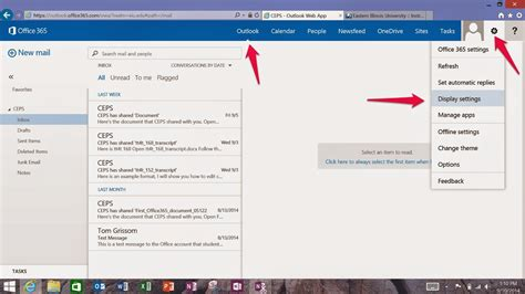outlook email layout change day 4 outlook web app reading pane itc chronicles