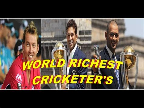 richest cricketer 2015 top 10 richest cricketer in the world