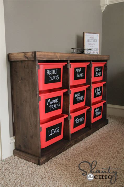 toy storage ideas diy storage idea shanty 2 chic