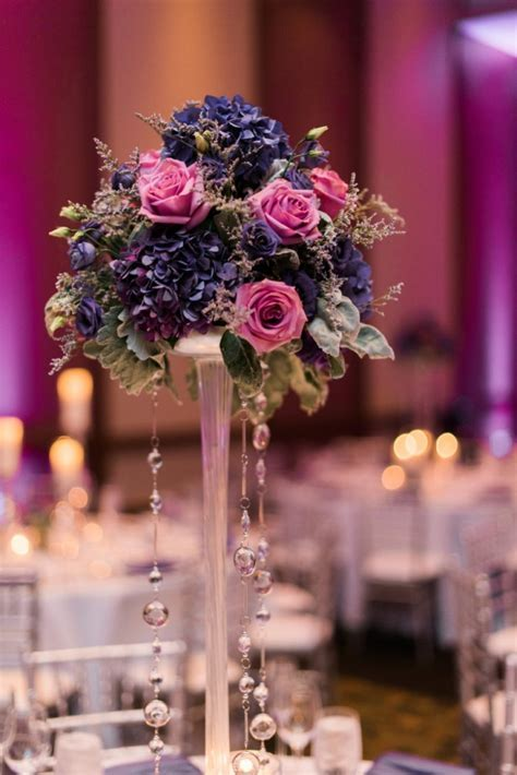 Plum and Pink Illinois Wedding at the Westin Chicago