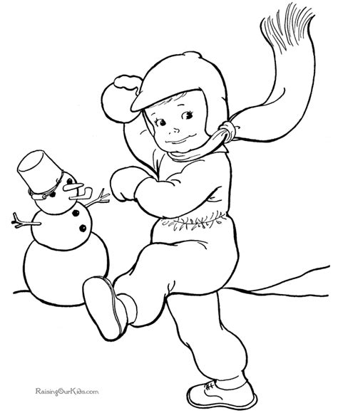 free winter coloring pages free winter coloring pages for printable new