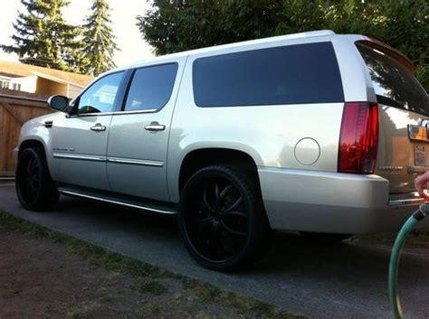 Cadillac Escalade On 26s Buy Used 2007 Cadillac Escalade On 26s Stereo System Fully