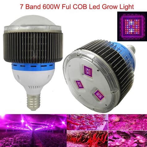 cob led grow light spectrum 7 band 600w cob led grow light blue uv