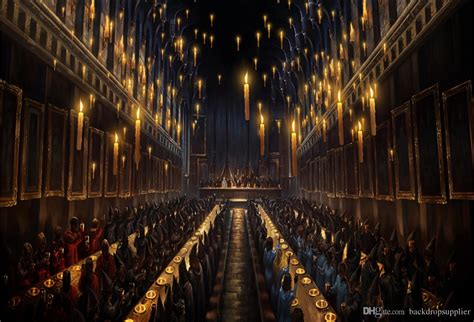hogwarts dining room 2018 7x5ft harry potter hogwarts dining hall lunch candles