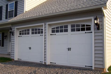 garage doors house exterior garage doors
