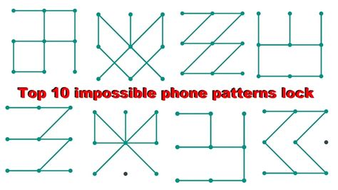 pattern lock best top 10 hardest impossible pattern locks for android phones