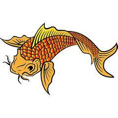 gambar tato keren ikan koi tattoo ikan koi di dada gambar kartun ikan clipart best