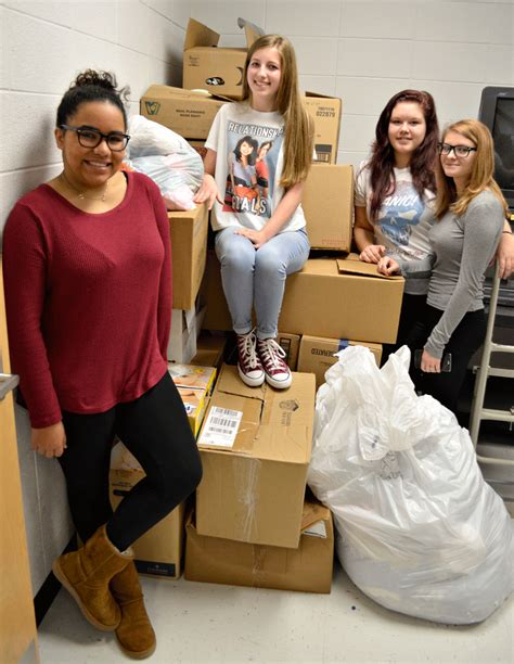 Zhoey Sparta sparta fccla team collects clothes news ccheadliner