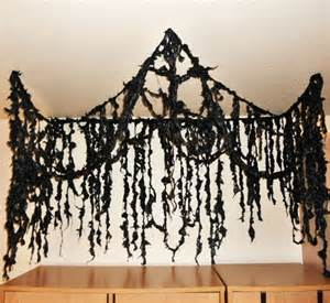 Hang Curtains From Ceiling 11 Awesome Ways To Turn Garbage Bags Into Halloween