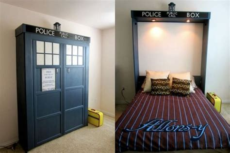 this tardis fold down bed is the bed of my dreams pics this doctor who tardis bed is literally bigger on the inside