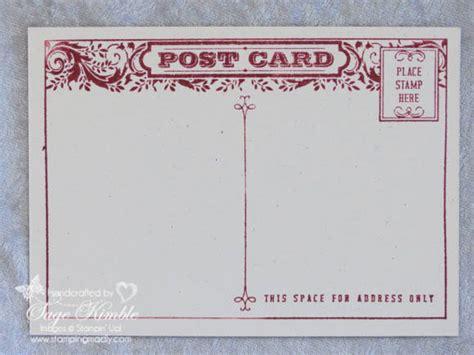 Postcard Handmade - handmade vintage postcard