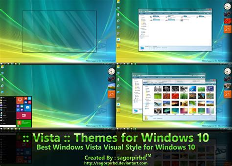 themes for windows 10 vista theme for windows 10 windows10 themes i cleodesktop