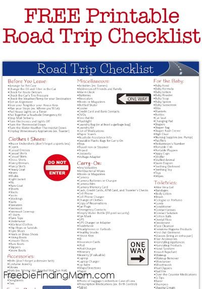 printable road trip checklist fresh and easy coupons printable 2017 2018 best cars