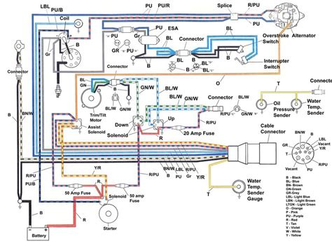 outboard starter solenoid wiring diagram images wiring