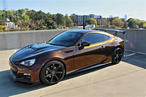 subaru wrapped goldmember86 s black copper starlite brz wrap wrapfolio