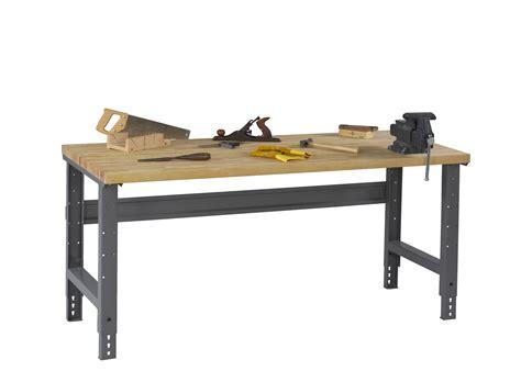 metal work bench legs tennsco storage made easy adjustable leg workbench