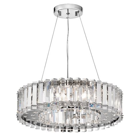 Chandelier With Crystals Crystal Skye Lampa Do Salonu Kl Crstskye8 Iluminacja24