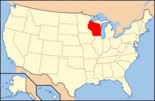 Wisconsin Map Usa by Map Of Usa Wi Mapsof Net