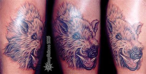 hog hunting tattoo designs pin hog tattoos on