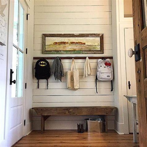 room hooks with the craigslist score antique shaker coat rack and a well spent 25 for the shiplap wall