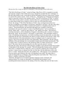 The Fall Of The House Of Usher Thesis Statement The Fall Of The House Of Usher Essay Rstudio Co
