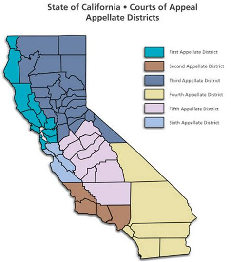 California Court Of Appeal Search Appellate Court Districts Images