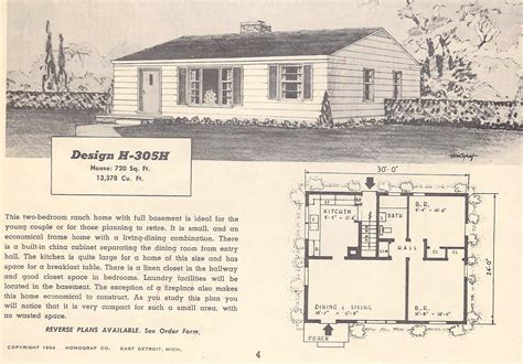 retro home plans vintage house plans 305h antique alter ego
