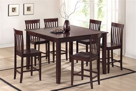 6 person high top table high top table chairs home ideas
