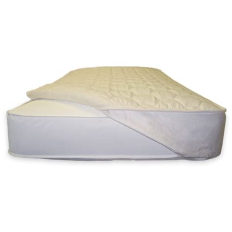 Baby Crib Mattress Topper by Naturepedic Organic Cotton Quilted Toddler Mattress Topper