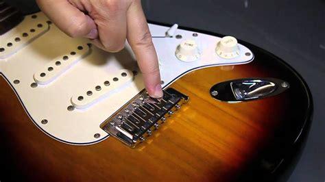 restring an electric guitar replace a broken string