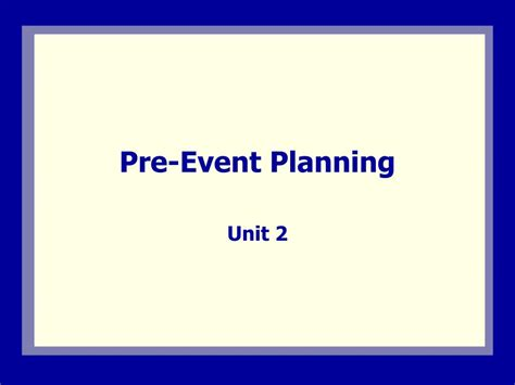 Ppt Pre Event Planning Powerpoint Presentation Id 311783 Event Planning Powerpoint Presentations